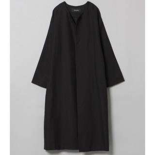 【新品未使用】JEANASIS ノーカラーコート