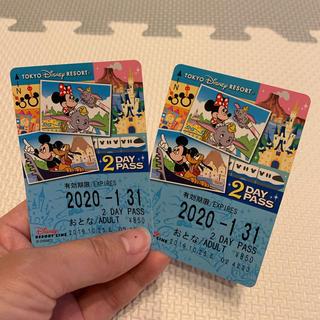 ディズニー(Disney)のディズニーモノレール 2dayパス(その他)