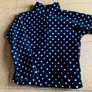 エメフィール(aimer feel)のドットルームウェア モコモコ トップス 羽織り(ルームウェア)