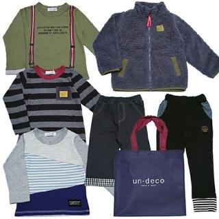 プティマイン(petit main)のun-deco 男の子 95サイズ(Tシャツ/カットソー)