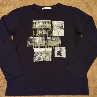 イッカ(ikka)のIKKA☆長袖デザインカットソー 厚手 130(Tシャツ/カットソー)