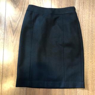 ミッシェルクラン(MICHEL KLEIN)のKLEIN D'OEIL♡黒のスカート(ひざ丈スカート)
