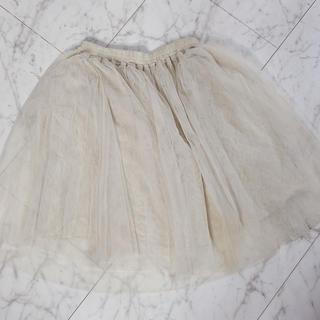 サルース(salus)のチュールスカート サルース(ひざ丈スカート)