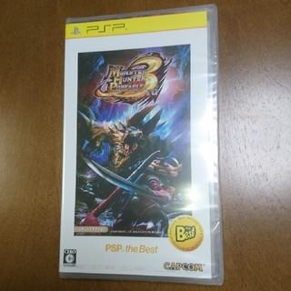 CAPCOM - 【未開封】モンスターハンターポータブル 3rd PSP the Best