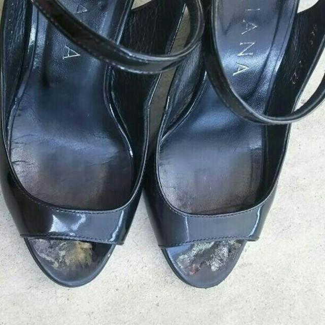 DIANA(ダイアナ)のDiana オープントゥパンプス レディースの靴/シューズ(ハイヒール/パンプス)の商品写真
