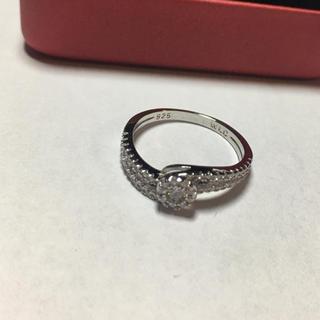 【新品未使用】シルバーリング 925 13号 ジュエリーケース付き(リング(指輪))