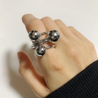 シルバー ボール リング 指輪(リング(指輪))