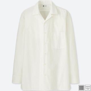 UNIQLO - UNIQLO U オープンカラーシャツ