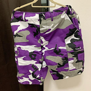 ロスコ(ROTHCO)のロスコ 紫 人気 半ズボン(ワークパンツ/カーゴパンツ)