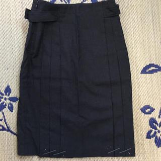 ミッシェルクラン(MICHEL KLEIN)の美品、ミッシェルクラン、あったかスカート(ひざ丈スカート)
