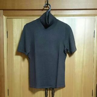 コムサイズム(COMME CA ISM)のコムサイズム 半袖タートルニット(ニット/セーター)