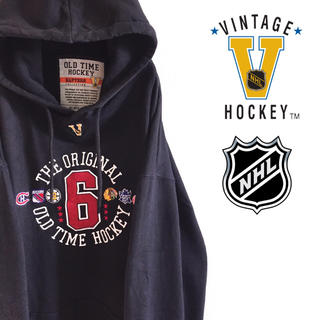 リーボック(Reebok)の古着 NHL オールドタイム ホッケー プルオーバー スウェット パーカー(パーカー)