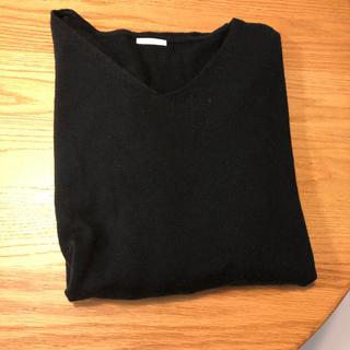 ジーユー(GU)のGU XL ニットセーター ブラック(ニット/セーター)
