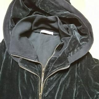 URBAN RESEARCH - 美品   黒ベロア調 ジャケット