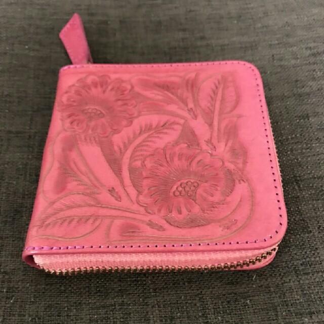 GRACE CONTINENTAL(グレースコンチネンタル)の新品 カービング ピンク財布 レディースのファッション小物(財布)の商品写真