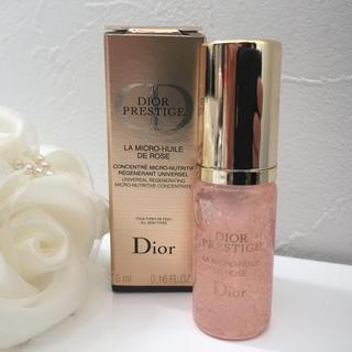 クリスチャンディオール(Christian Dior)のディオール プレステージ ユイルドローズ 5ml 美容液 箱なし(美容液)