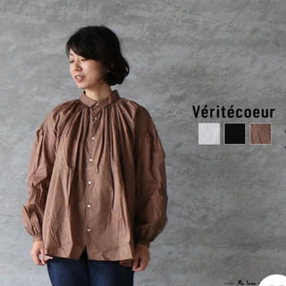 ヴェリテクール(Veritecoeur)のVeritecoeur ヴェリテクール  アンティークブラウス(シャツ/ブラウス(長袖/七分))
