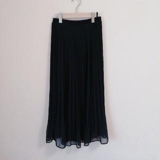 しまむら - 新品* しまむら ネイビー プリーツスカート