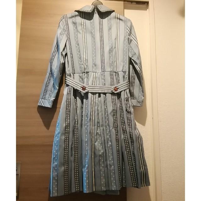JaneMarple(ジェーンマープル)のジェーンマープル ribbon jacquard stripeドミトリードレス レディースのワンピース(ひざ丈ワンピース)の商品写真