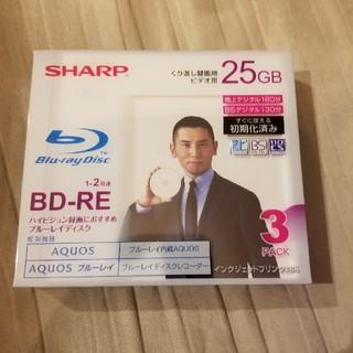 シャープ(SHARP)のSHARP BD-RE 25GB 新品未使用(その他)
