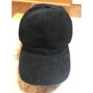 ザラ(ZARA)のZARA コーデュロイ キャップ 帽子(キャップ)