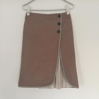 DEUXIEME CLASSE - ドッキングプリーツ トレンチスカート