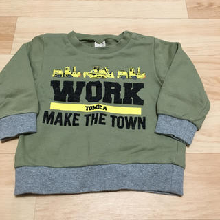 プティマイン(petit main)のプティマイン トミカ トレーナー 90(Tシャツ/カットソー)