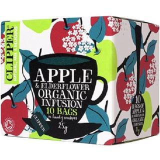 クリッパー オーガニック アップル&エルダーフラワー 2.5g*10袋(茶)