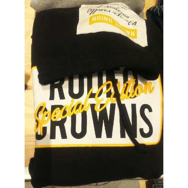 RODEO CROWNS WIDE BOWL(ロデオクラウンズワイドボウル)の新品未使用ブラック レディースのトップス(パーカー)の商品写真