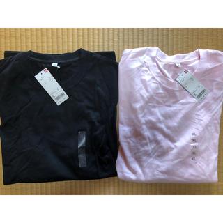 UNIQLO - 新品 UNIQLO 長袖Tシャツ  2枚売り