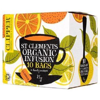 クリッパー オーガニック セントクレメンツ オレンジ&レモン 2.5g*10袋(茶)