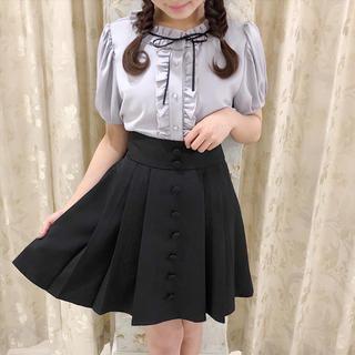 エブリン(evelyn)の♡。くるみボタンスカート(難あり)(ミニスカート)