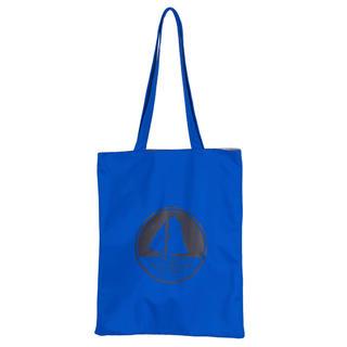 プチバトー(PETIT BATEAU)の新品未使用 プチバトー ロゴ入りトートバッグ ブルー 青(トートバッグ)