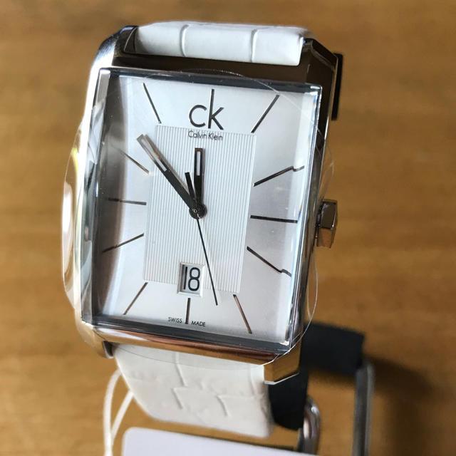 Calvin Klein(カルバンクライン)の新品✨カルバン クライン ウィンドウ クオーツ 腕時計 K2M211.20 メンズの時計(腕時計(アナログ))の商品写真