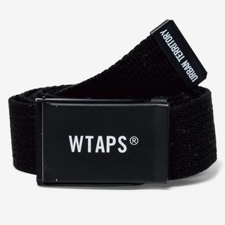 ダブルタップス(W)taps)の新品未使用 WTAPS GIB BELT ACRYLIC ブラック(ベルト)