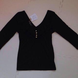 セシルマクビー(CECIL McBEE)の新品未使用 CECIL 七分丈 Tシャツ(Tシャツ(長袖/七分))