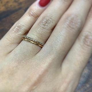 k10  ダイヤ ハーフエタニティ リング(リング(指輪))