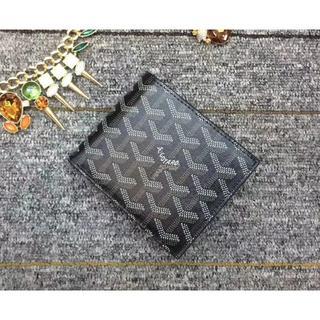 GOYARD - [新品未開封] 二つ折り財布 GOYARD 財布 黒