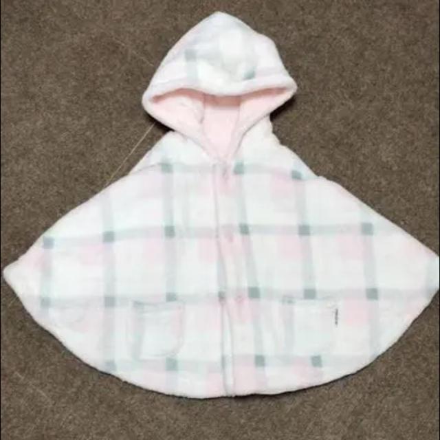 COMME CA ISM(コムサイズム)のコムサイズム ポンチョ キッズ/ベビー/マタニティのベビー服(~85cm)(その他)の商品写真