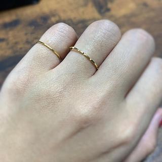 k18  華奢 ピンキーリング(リング(指輪))