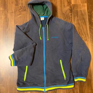 コロンビア(Columbia)のコロンビア パーカー 紺色 約13年前購入 古着(パーカー)