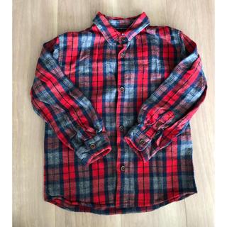 ザラキッズ(ZARA KIDS)の(Zara) 古着風チェックシャツ 116cm(ブラウス)