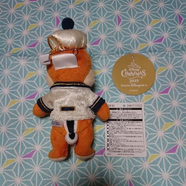 チップ&デール(チップアンドデール)のデール ぬいぐるみバッジ エンタメ/ホビーのおもちゃ/ぬいぐるみ(キャラクターグッズ)の商品写真