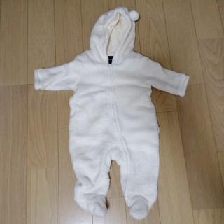 babyGAP - カバーオール(3~6ヶ月用・白・babyGap)