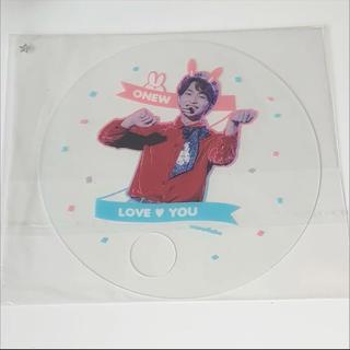 シャイニー(SHINee)のオニュ 透明うちわ(K-POP/アジア)