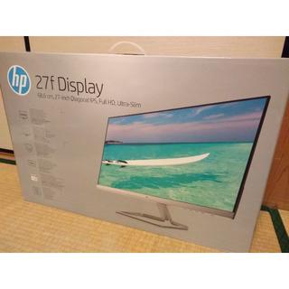 HP - HP ヒューレットパッカード 27f 27インチ HDディスプレイ新品