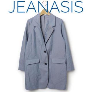 ジーナシス(JEANASIS)のジーナシス【美品】シャンブレー チェスター テーラード ジャケット(テーラードジャケット)