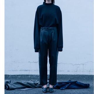サンシー(SUNSEA)のstein OVER HIGH NECK LS BLACK(Tシャツ/カットソー(七分/長袖))