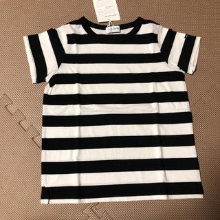フィス(FITH)の新品 quoti use fith ボーダー Tシャツ 120cm(Tシャツ/カットソー)