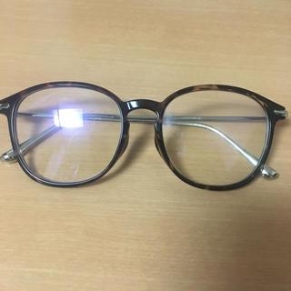 ユニクロ(UNIQLO)のPC用 紫外線カット 伊達メガネ(サングラス/メガネ)